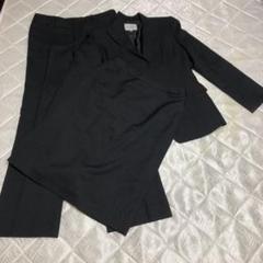 セオリア ブラック スーツ セットアップ スリーピース
