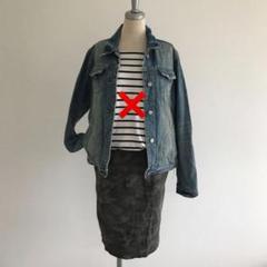 コーデ売り デニムジャケット スカート