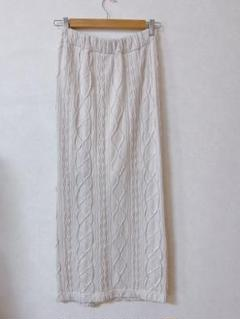 JEANASIS ロングスカートニットスカート