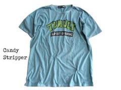 ★夏本番★【キャンディストリッパー】ビッグサイズ! タートルズ風 Tシャツ